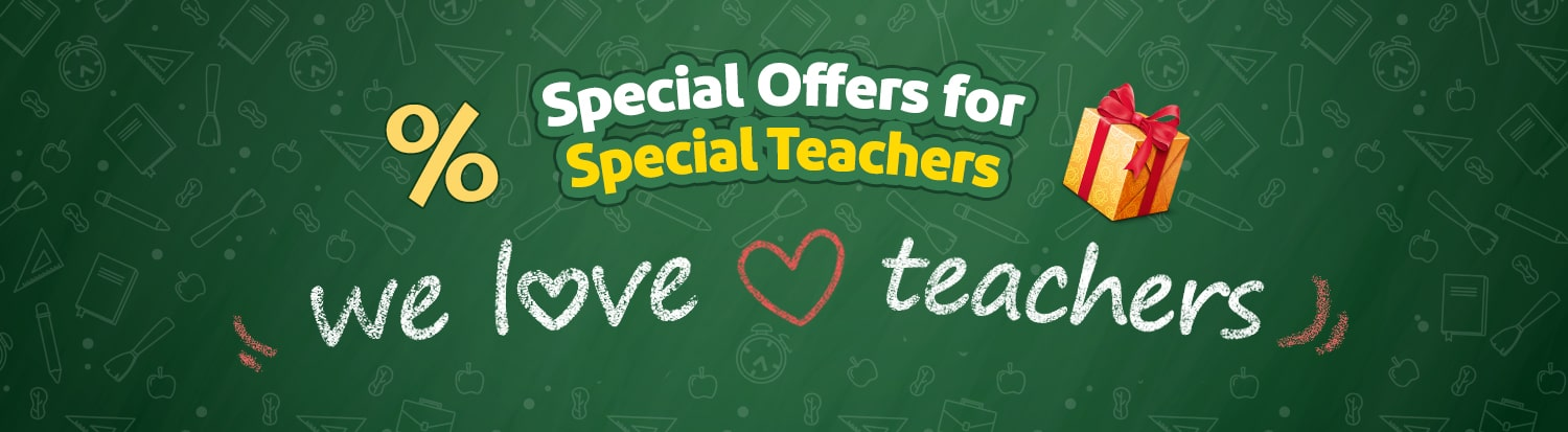 Special Offers For Special Teachers