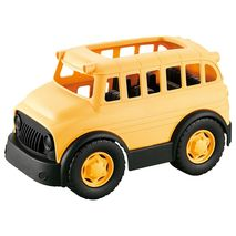 Rollup Kids ECO FRIENDLY SCHOOL BUS BRICKS VEHICLE | zomorod