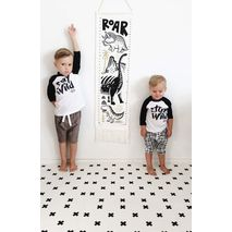 Wee Gallery - Canvas Growth Chart – Dino-Zomorod.com