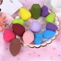 Makeup Sponge Cosmetic Puff For Foundation Concealer Cream - BROWN DOUBLE CUT-Zomorod.com