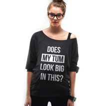 Mamagama Does My Tum Look Big In This? Maternity Top
