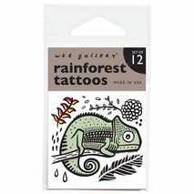 Wee Gallery Rainforest Temporary Tattoos | Zomorod