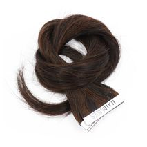 Hairmiles Tape Hair Extension Pack of 10 pieces 4cmx55cm Col:1B/2 Highlights-Zomorod.com