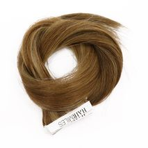 Hairmiles Tape Hair Extension Pack of 10 pieces 4cmx55cm Col:8A/6A Highlights-Zomorod.com