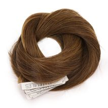 Hairmiles Tape Hair Extension Pack of 10 pieces 4cmx55cm Col:6A/2A Highlights-Zomorod.com