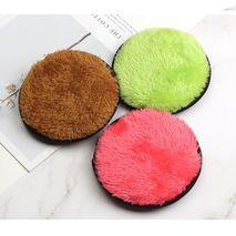 2Pcs Soft Microfiber Makeup Remover Towel Plush Puff Reusable Cleansing Cloth Pads Face Cleaner Foundation Face Skin Care Tools-Zomorod.com