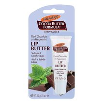 Palmer's Cocoa Butter Dark Chocolate & Peppermint Lip Butter with Vitamin E 10 g