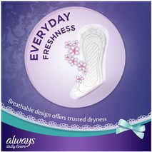 Always Daily Liners Comfort Protect With Fresh Scent, Normal, 80 Count-Zomorod.com