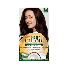 Soft Color, Natural hair color without Ammonia and with 100% Natural Ingredients: Dark Brown-Zomorod.com