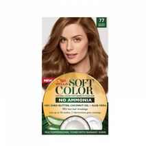 Soft Color, Natural hair color without Ammonia and with 100% Natural Ingredients: Golden Brown-Zomorod.com