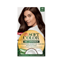 Soft Color, Natural hair color without Ammonia and with 100% Natural Ingredients: Medium Brown-Zomorod.com