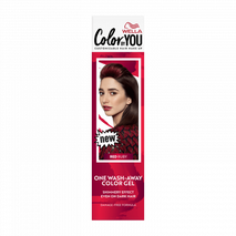 Wella color by you One Wash-Away Color Gel Red Ruby 35 ml-Zomorod.com