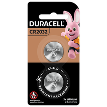 Duracell LITHIUM BATTERIES IN COIN SIZES 2032 2 Pieces-Zomorod.com