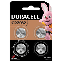 Duracell LITHIUM BATTERIES IN COIN SIZES 2032 4 Pieces-Zomorod.com