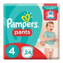 Pampers Pants Diapers, Size 4, Carry Pack, 24 Count-Zomorod.com