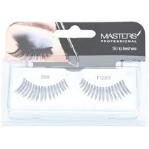 Masters Professional Foxy Strip Eye Lashes - 208, Pack of 1-zomorod