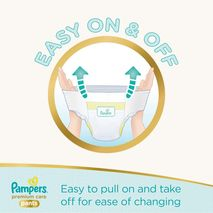 Pampers Premium Care Pants Diapers, Size 6, Extra Large, 16kg, 36 Count-Zomorod.com
