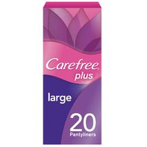 CAREFREE - Panty Liners, Large - Pack of 20-Zomorod.com