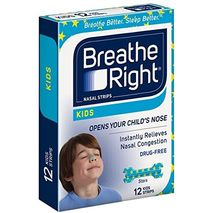 Breath Right Nasal Strips for Kids