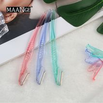 MAANGE 3pcs/pack Colorful Eyebrow Trimmer Makeup Knife Eyebrow Blades Face Hair Removal Safe Scraper Shaver Makeup Beauty Tools [CLONE]-Zomorod.com