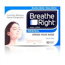 Breath Right Nasal Strips