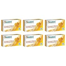 Himalaya Herbals Dry Soap Enriched With Milk Cream And Honey Moisturizing And Nourishing The Skin 6×125g-Zomorod.com