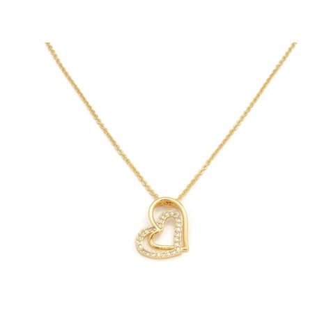 FC COLLECTION THE CLASSIC HEART IN HEART LOCKET PLATED IN 18KT | zomorod
