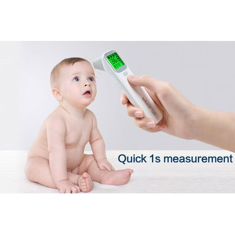 ELERA Baby Thermometer Infrared Digital LCD Body Measurement Forehead Ear Non-Contact Adult Body Fever IR Children Termometro-Zomorod.com