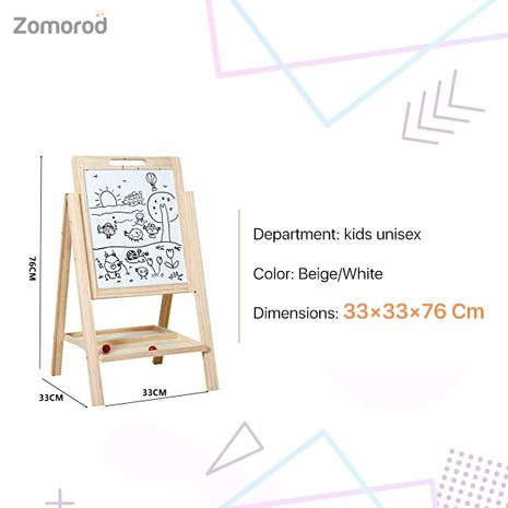 Interesting And Practical Folding Lifting Large Drawing Board For Kids - Al Ostoura Toys-Zomorod.com
