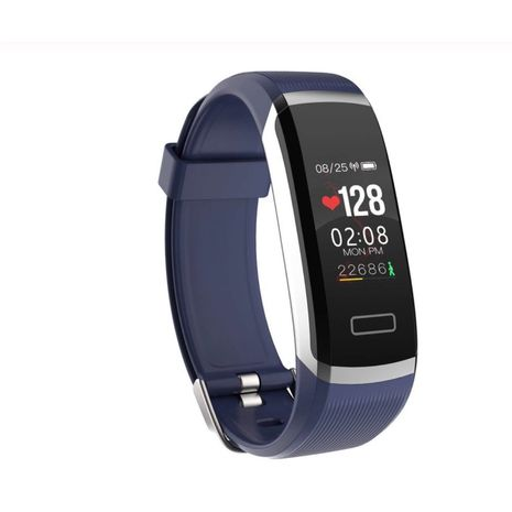 Smart watch Bracelet Blue Color real-time monitor heart rate & sleeping best Couple Fitness Tracker-Zomorod.com