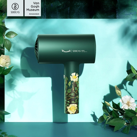SOOCAS H3S Professional Negative Ion Hair Dryer 1800W Hot Cold Wind Hair Dryers Diversion Design Aluminum Alloy Electric Dryer-Zomorod.com