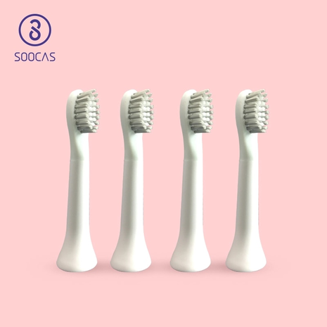 WHITE EX3 Toothbrush head for Xiaomi EX3 ToothBrush head Mijia Electric Ultrasonic Automatic brush replacement head-Zomorod.com