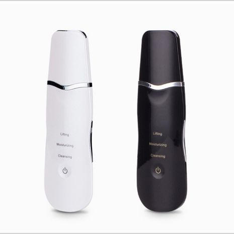 Ultrasonic Face Massager Ion Deep Cleaning Skin - White-Zomorod.com