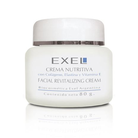 The Best EXEL Nourishing Facial Revitalising Cream With Collagen, Elastin And Vitamin E  (80 ml)