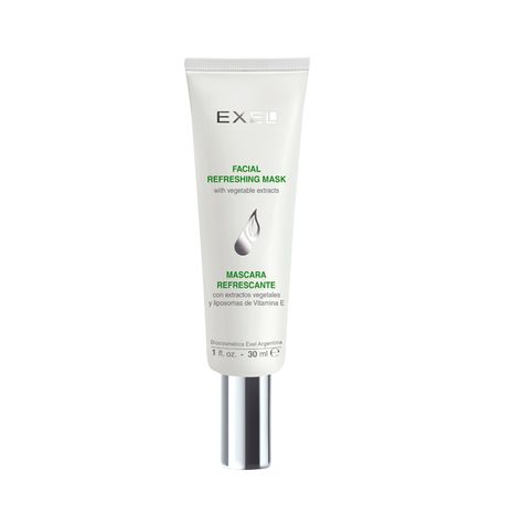 EXEL Refreshing mask with vegetable extracts and vitamin E Liposomes (240 gr)