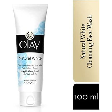 Olay Natural White Cleansing Face Wash-Zomorod.com