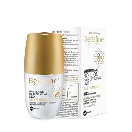 Whitening Hair Delaying Deodorant 50.ml Beesline