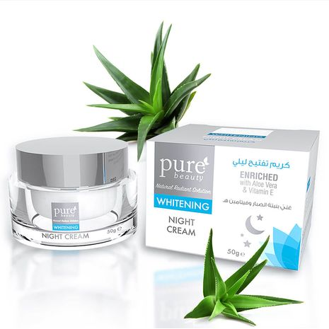 Pure Beauty Whitening Night Cream