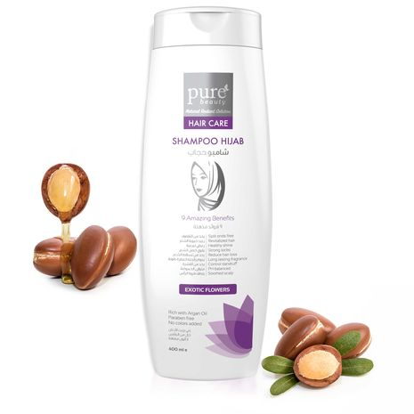 ​Pure Beauty Shampoo Hijab Exotic Flowers 400.ml Pure Beauty Company​
