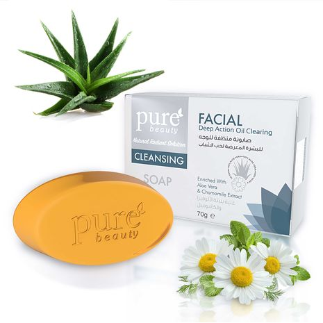 Pure Beauty Cleansing Facial Soap 70g
