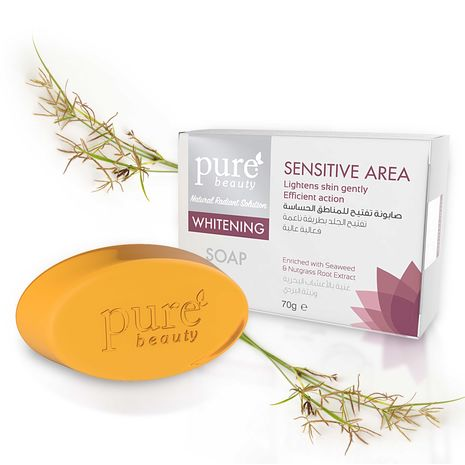 Pure Beauty Whitening Soap for Sensitive Area - 70g