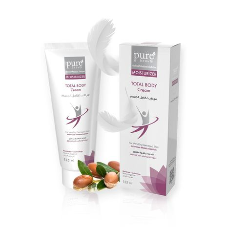 Pure Beauty Total Body Moisturizing Cream 125.ml