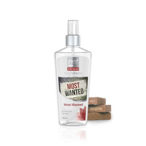 Pure Beauty Body Splash Most Wanted 250 ml - For Men-Zomorod.com