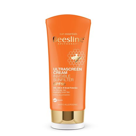 Ultra Sunscreen Invisible Sun-filter SPF 50, 60.ml Beesline