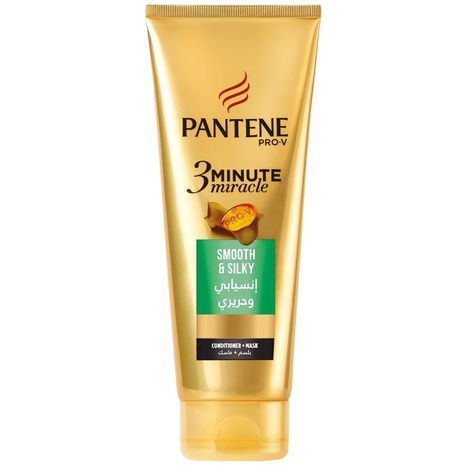 Pantene Pro-V 3 Minute Miracle Smooth & Silky Conditioner 200 ml