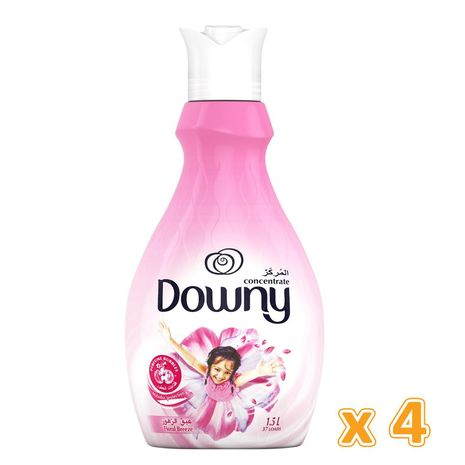 Downy Concentrate Floral Breeze (4 x 1.5 L)-Zomorod.com
