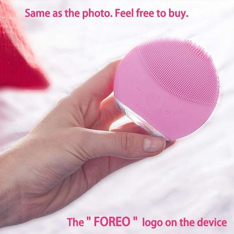 Face Cleaning Brush Foreo Red