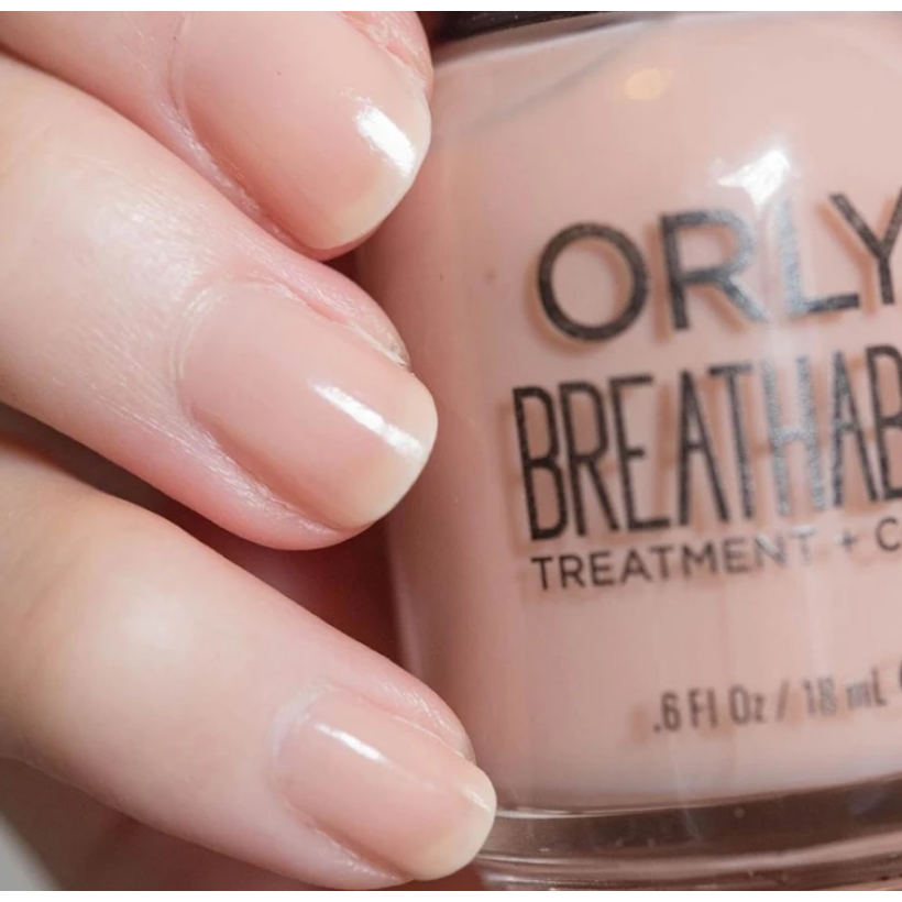 Orly Breathable Treatment Glossy Nail Color Nourishing Nude
